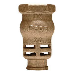 Válvula de retenção com fundo de poço PN16