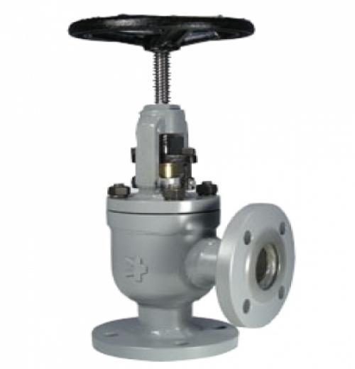Válvula Tipo Globo Angular de Bloqueio e Retenção com Conexão Flangeada ANSI B16.5 300 lbs