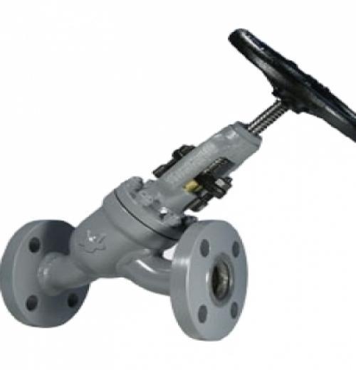 Válvula Tipo Globo em Y de Bloqueio com Conexão Flangeada ANSI B16.5 150 lbs