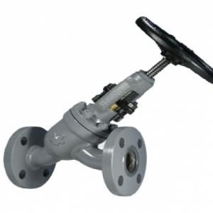 Válvula Tipo Globo em Y de Regulagem com Conexão Flangeada ANSI B16.5 300 lbs