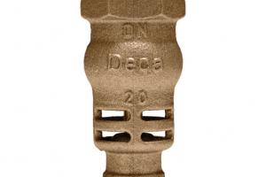 Válvulas de retenção com portinhola PN16