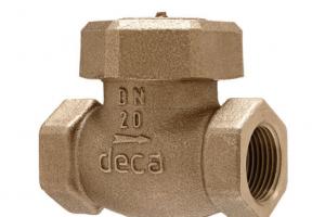 Válvula de retenção horizontal PN20