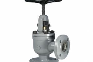 Válvula Tipo Globo Angular de Regulagem com Conexão Flangeada ANSI B16.5 150 lbs