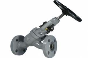 Válvula Tipo Globo em Y de Bloqueio e Retenção com Conexão Flangeada ANSI B16.5 150 lbs