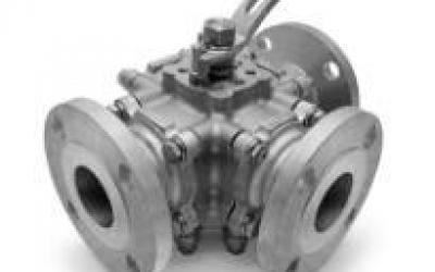 Válvula Esfera Direcional Multivias Flange 150 / 300 / DIN